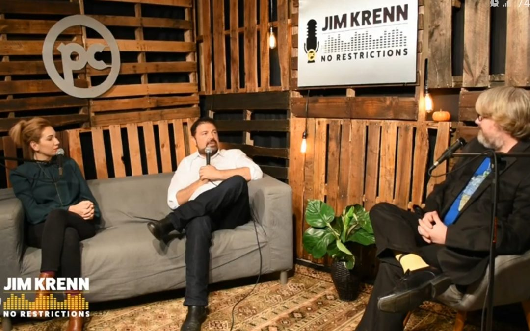 VIDEO: My appearance on the Jim Krenn: No restrictions Podcast
