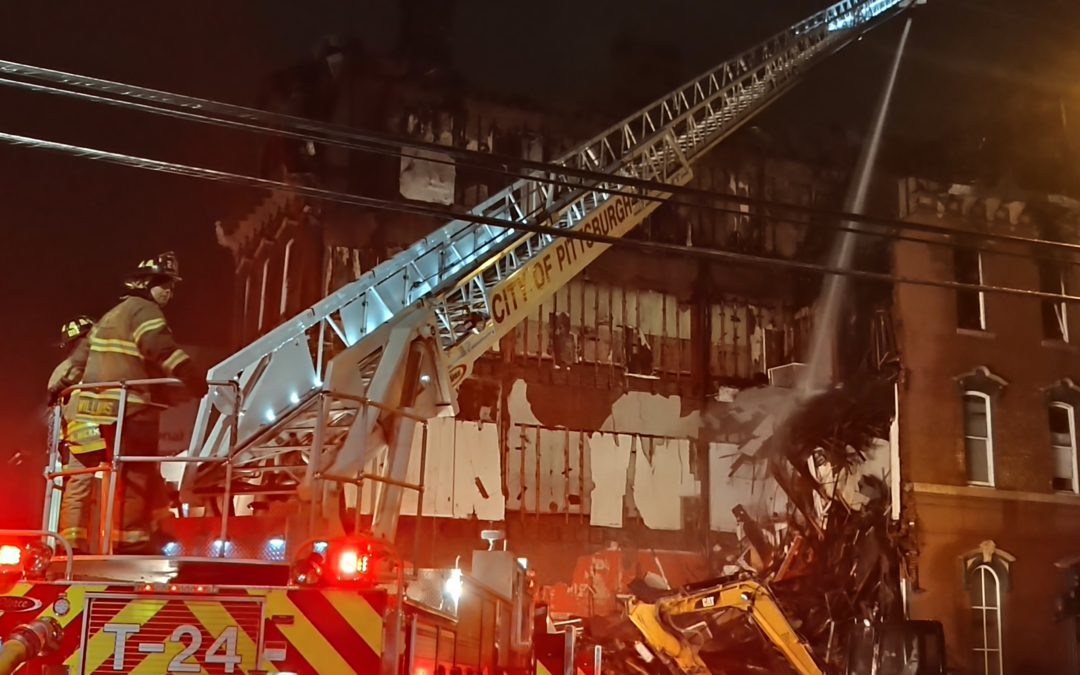 Video from the Southside Chamber of Commerce Fire Aftermath