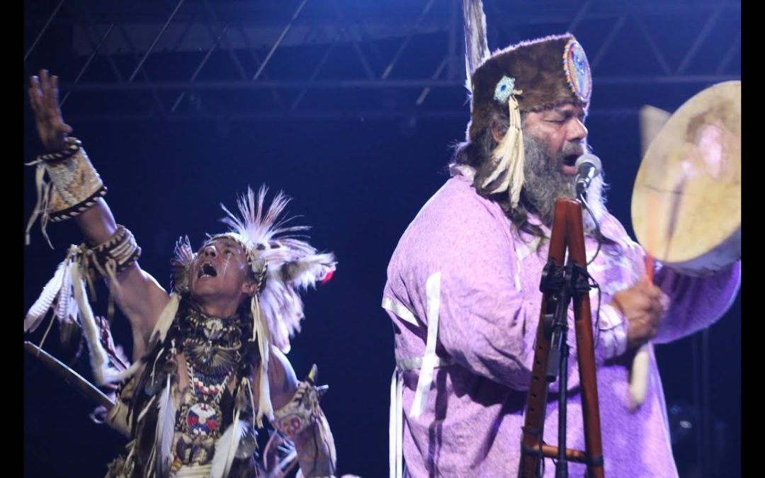 Jody Gaskins and Cody: Final blessing and Ceremonial Dance at Aces Back to Back