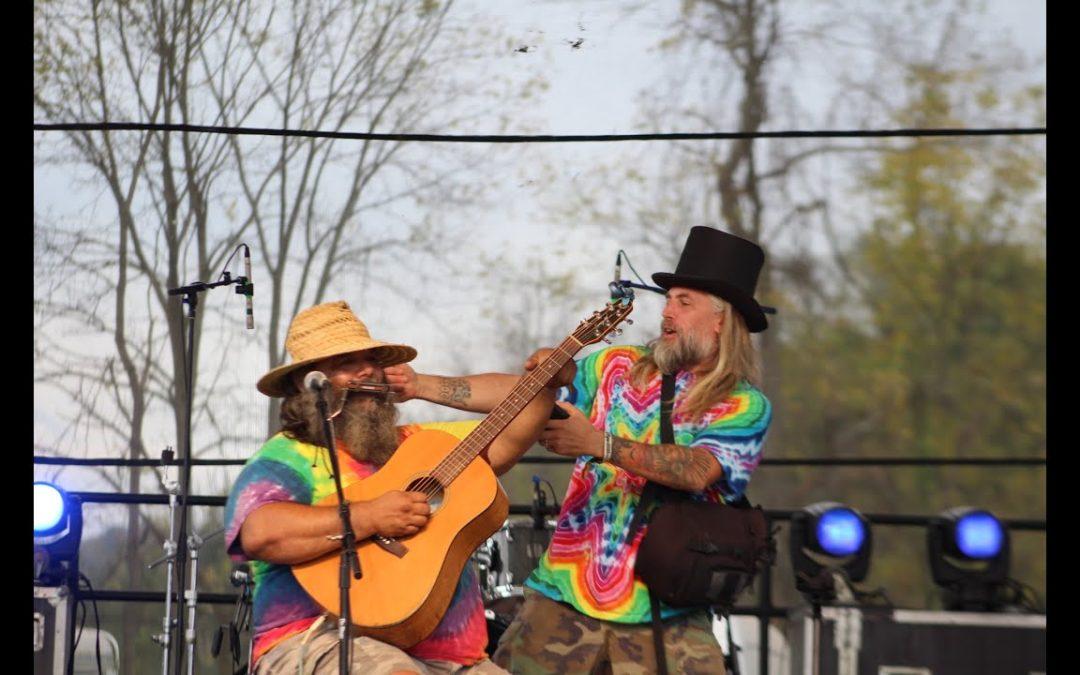 Jody Gaskin and Nick at Fall pyro 2021